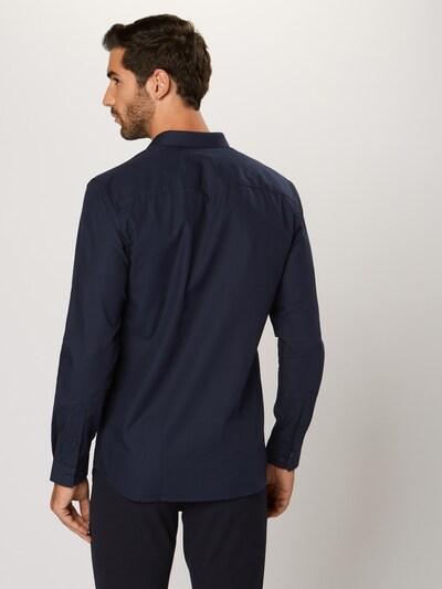 Dalykiniai marškiniai 'VICTOR' iš JACK & JONES , spalva - tamsiai mėlyna: Vaizdas iš galinės pusės