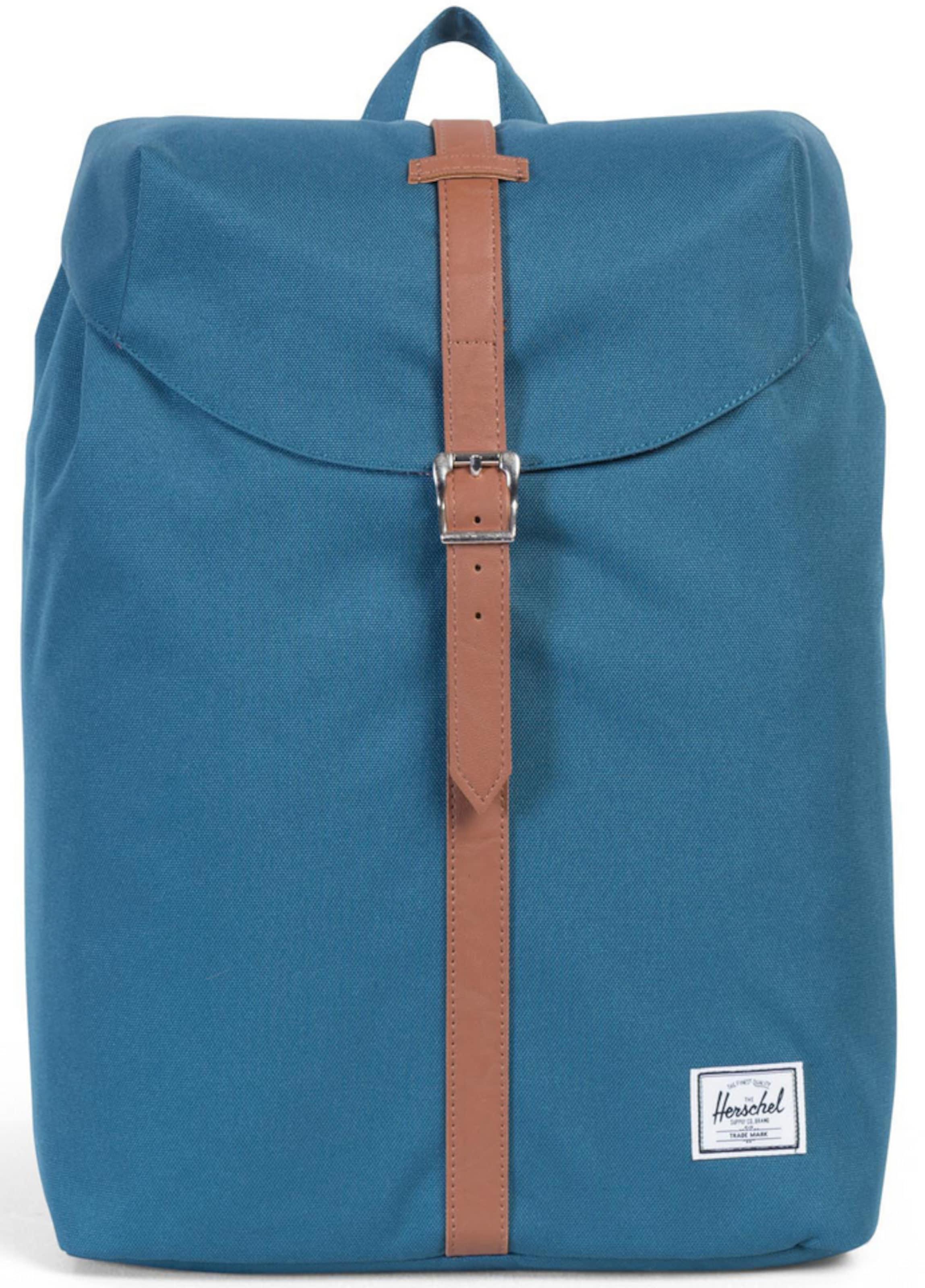 Herschel Rucksack mit Laptopfach 'Post Backpack, Indian Teal, Mid Volume'