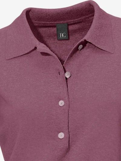heine Polo-Pullover in beere, Produktansicht