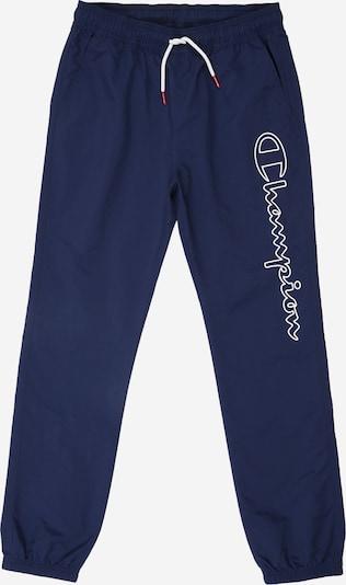 Champion Authentic Athletic Apparel Pantalon 'Elastic Cuff Pants' en bleu: Vue de face