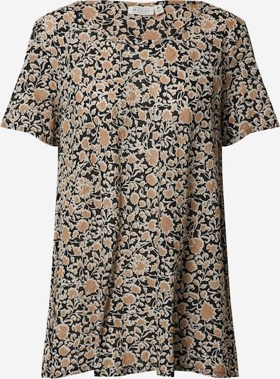 Masai T-shirt 'Klara' en brocart / noir, Vue avec produit