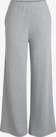 PIECES Loose Fit-Hose in Grau