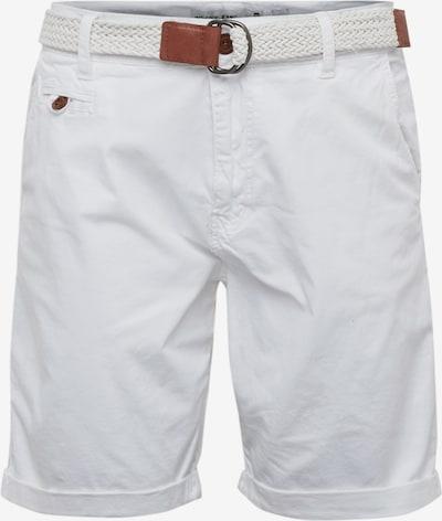 INDICODE JEANS Chino hlače 'Conor' | bela barva, Prikaz izdelka