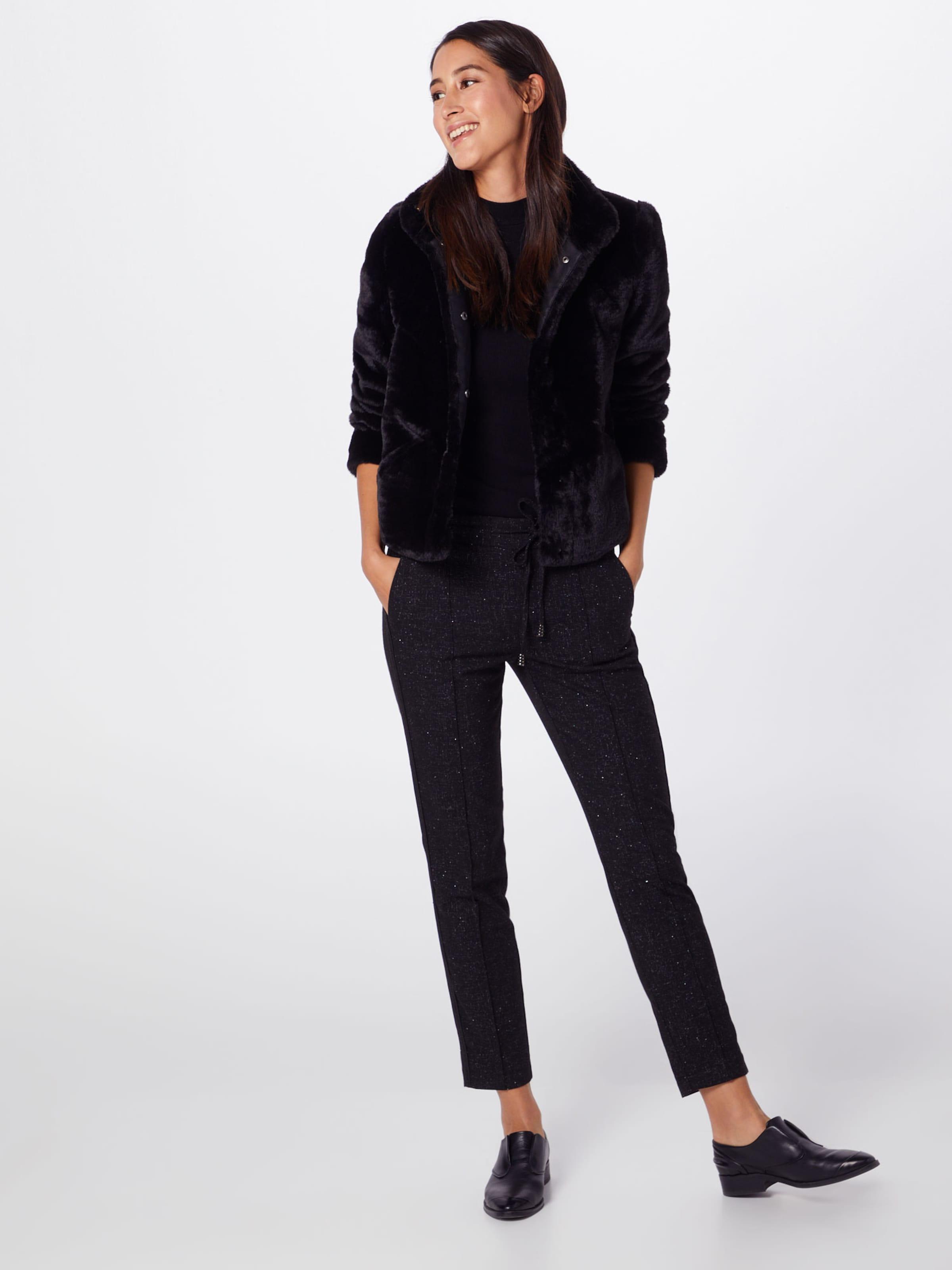 One Mw Fancy Loose' En Pantalon Woven Lurex Noir 'fay Street JFcTl1K