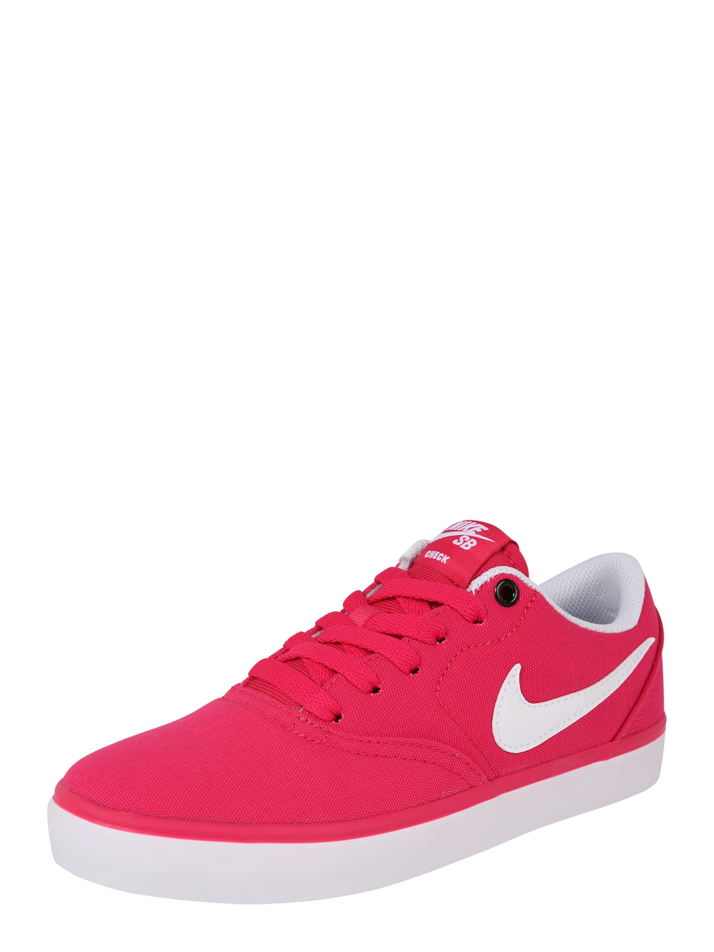 Nike 'check Solar' In Wit Sb Donkerroze Sportschoen rpwqCrx0