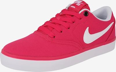 Nike SB Sneakers laag 'Check Solar' in de kleur Pink / Wit, Productweergave