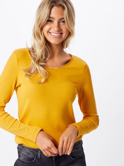 Tricou TOM TAILOR pe galben auriu: Privire frontală
