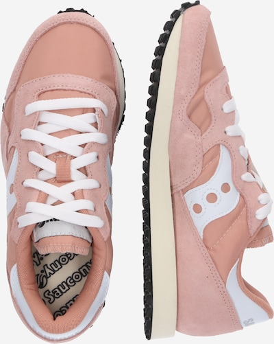 saucony Schuhe 'DXN Vintage' in apricot / puder / weiß: Seitenansicht