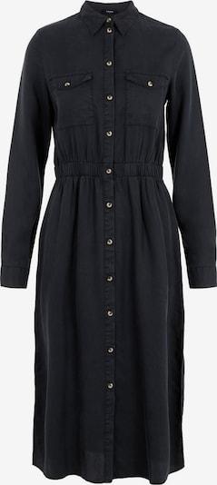 PIECES Blusenkleid 'PCNOLA' in black denim, Produktansicht