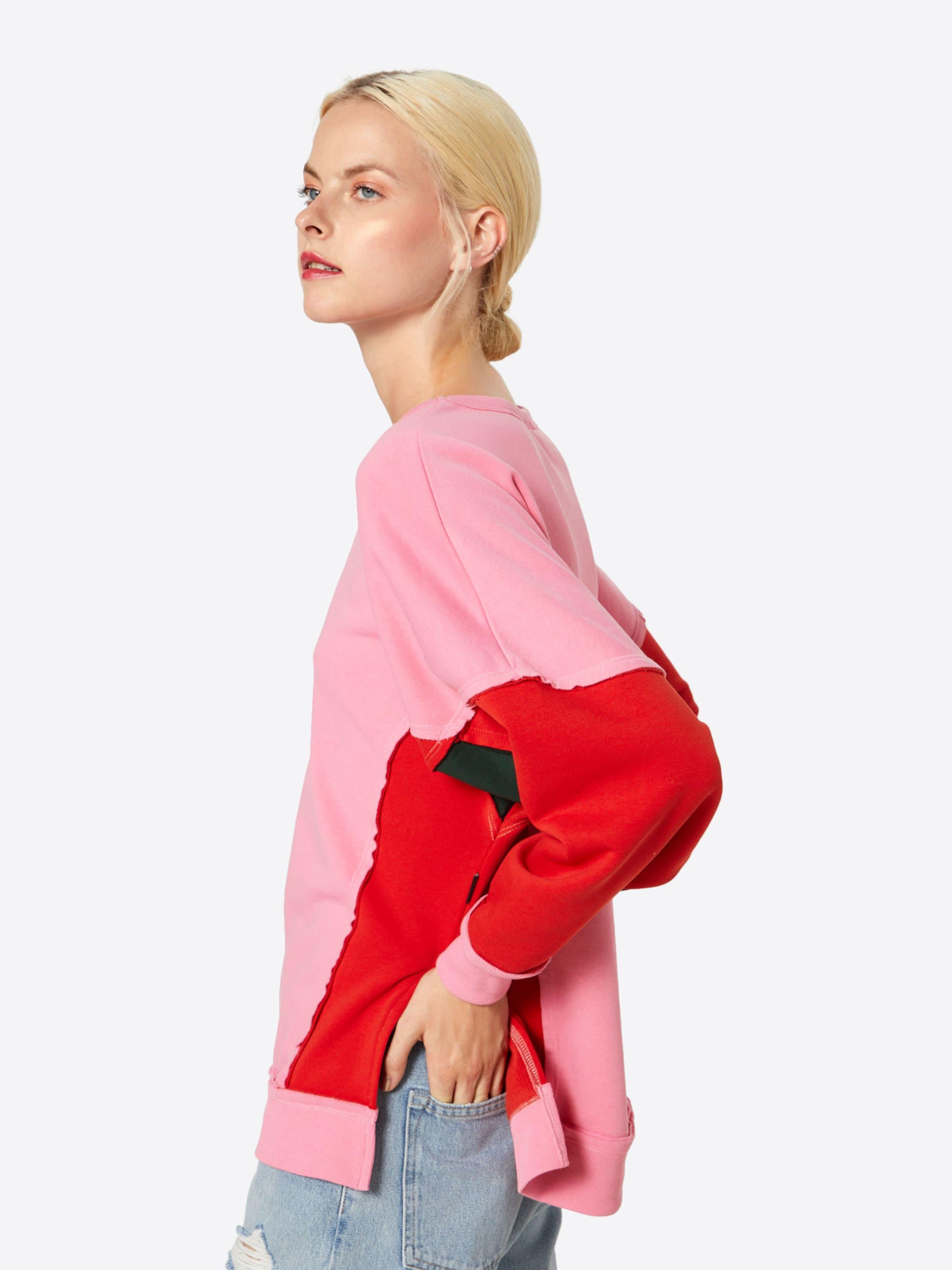 Noisy In Sweatshirt 'pom' May PinkHellrot XiZPOku