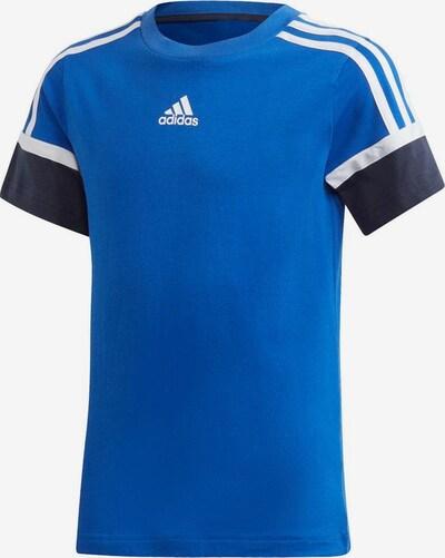 ADIDAS PERFORMANCE Funktionsshirt in royalblau / schwarz / weiß, Produktansicht