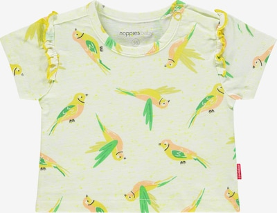 Noppies T-Shirt 'Somerset' in pastellgelb / mischfarben, Produktansicht