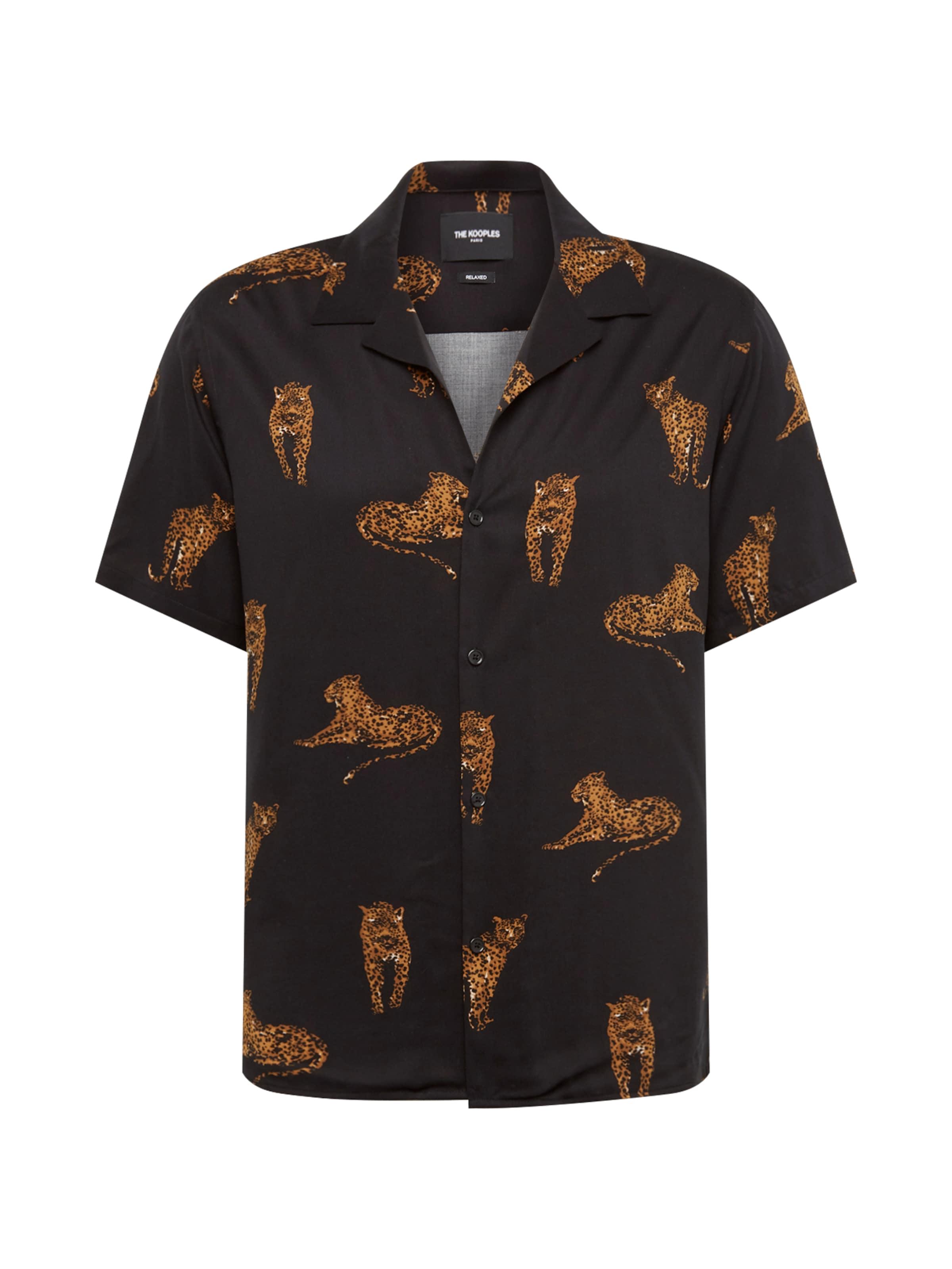 The En MarronNoir 'chemise' Kooples Chemise GSzVLUqpjM