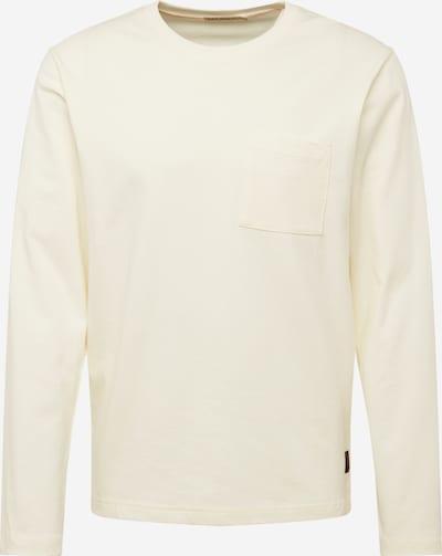 Nudie Jeans Co T-Shirt 'Rudi Pocket Tee' en blanc cassé, Vue avec produit