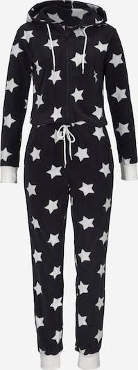 VIVANCE Jumpsuit in de kleur Zwart / Natuurwit, Productweergave