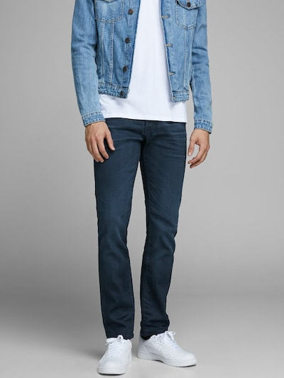 JACK & JONES Jeans 'Clark' in blue denim, Modelansicht