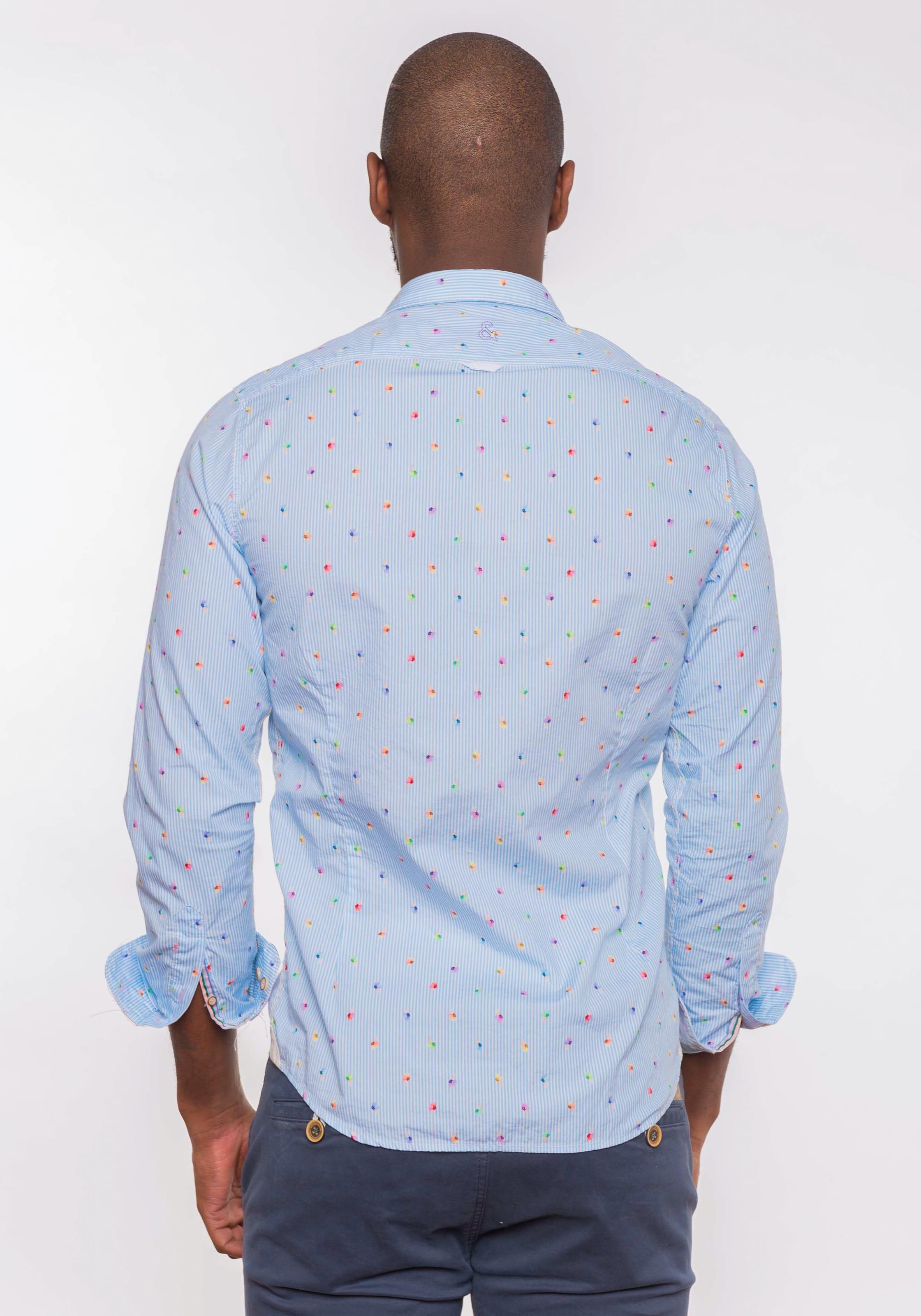 Coloursamp; In Hemd 'michael' BlauMischfarben Sons BodQrxCeW