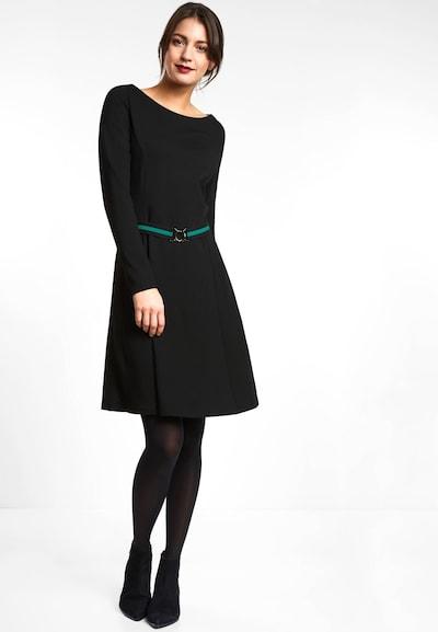 STREET ONE Kleid in schwarz, Modelansicht