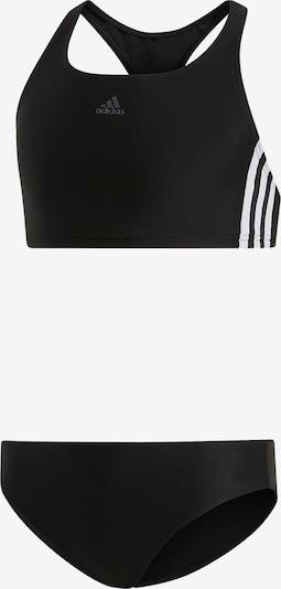 ADIDAS PERFORMANCE Bikini 'Fit 2PC 3S' in schwarz / weiß, Produktansicht