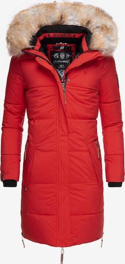 NAVAHOO Wintermantel 'Halina' in rot, Produktansicht