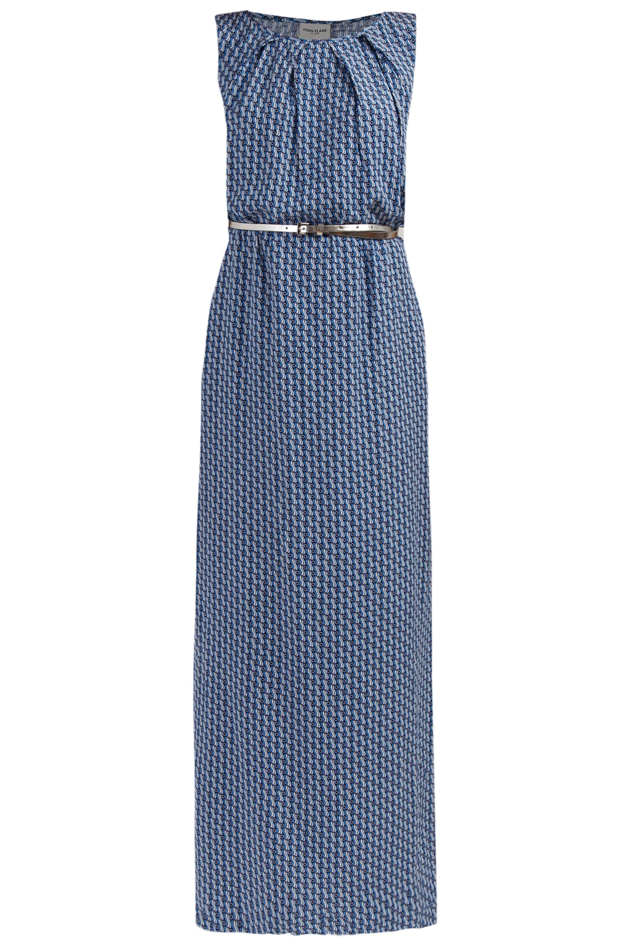 Finn Flare BlauDunkelblau Weiß In Kleid T5ulF31KJc