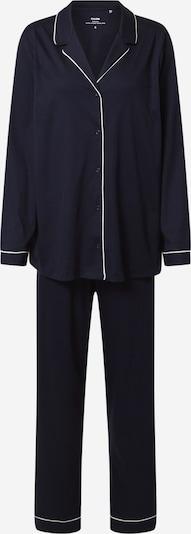 Pijama CALIDA pe albastru închis / alb, Vizualizare produs