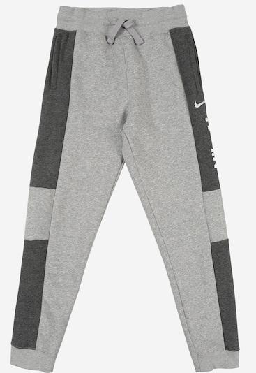Nike Sportswear Hose in hellgrau / dunkelgrau, Produktansicht