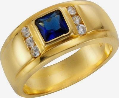 FIRETTI Ring in dunkelblau / gold, Produktansicht