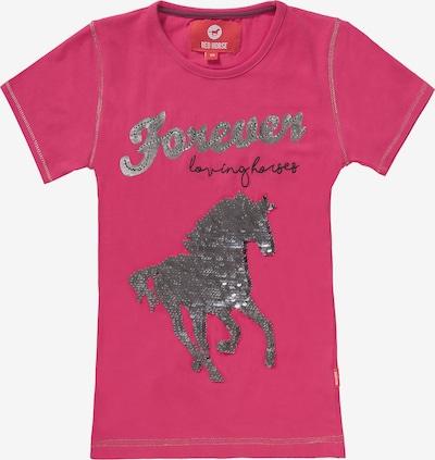 RED HORSE T-Shirt in pink / silber, Produktansicht