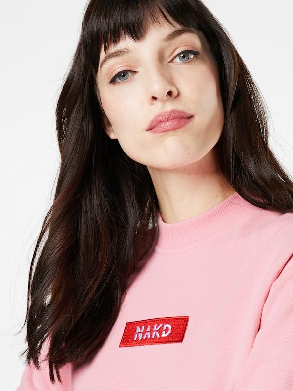 NA-KD Sweatshirt mit Markenlogo