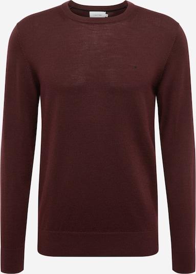 Calvin Klein Pullover in weinrot, Produktansicht