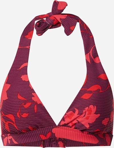 Seafolly Bikinitop in lila / rot, Produktansicht