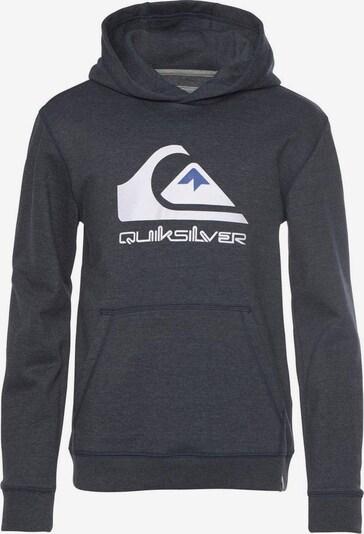 QUIKSILVER Sweatshirt in marine / weiß, Produktansicht