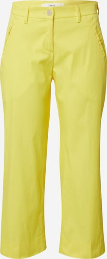 BRAX Trousers 'MAINE S' in Yellow, Item view