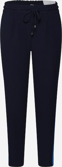 OPUS Bandplooibroek 'Melosa' in de kleur Lichtblauw / Donkerblauw, Productweergave
