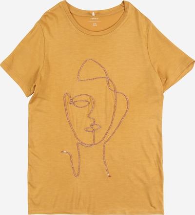 NAME IT T-Shirt 'NKFFANESSA' en moutarde, Vue avec produit