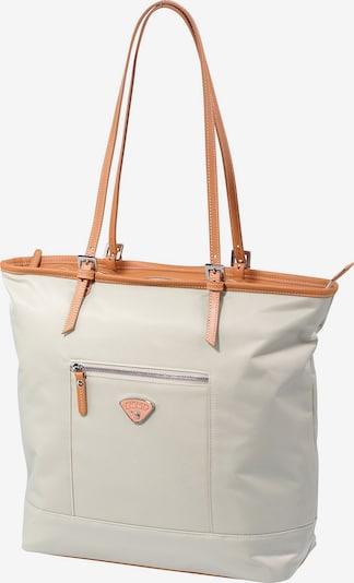 Jump Schultertasche 'Riviera' in beige / apricot, Produktansicht