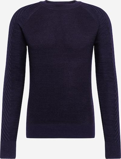 G-Star RAW Pullover 'Muzaki r knit l\s' in schwarz, Produktansicht