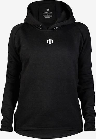 MOROTAI Kapuzenpullover 'Comfy Performance' in schwarz / weiß, Produktansicht