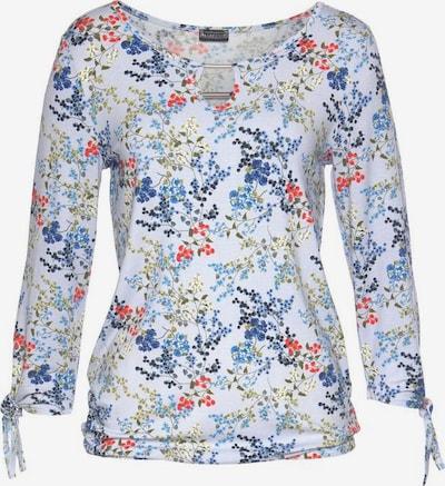 LAURA SCOTT Rundhalsshirt in hellblau, Produktansicht