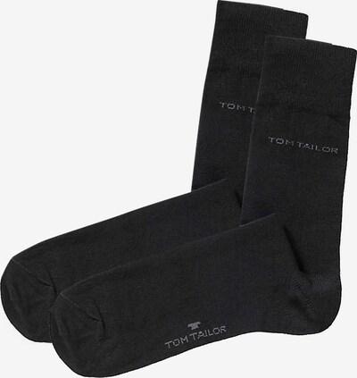 TOM TAILOR Basic Socken in schwarz, Produktansicht