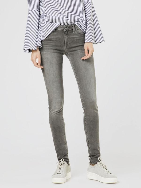 EDC BY ESPRIT Skinny Jeans mit leichter Waschung