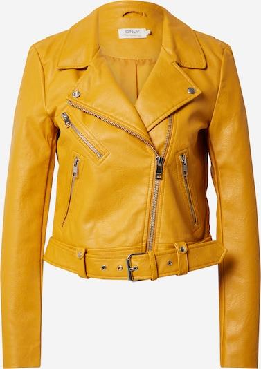 ONLY Prechodná bunda 'ONLVALERIE' - žltá: Pohľad spredu