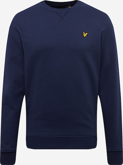 Lyle & Scott Sweatshirt in navy / gelb, Produktansicht