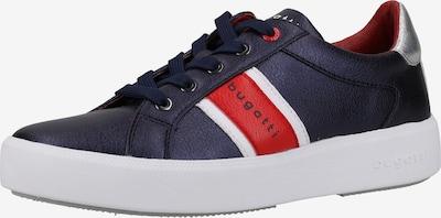 bugatti Sneaker in dunkelblau / rot / silber / weiß, Produktansicht