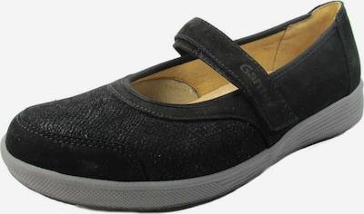 Ganter Riemchenballerina in schwarz, Produktansicht