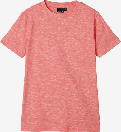 NAME IT Kurzärmeliges Melange T-Shirt in pink, Produktansicht