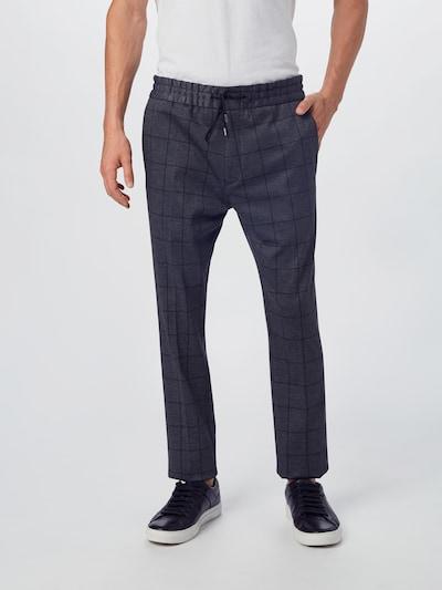 HUGO Hose 'Zennet' in grau / schwarz, Modelansicht