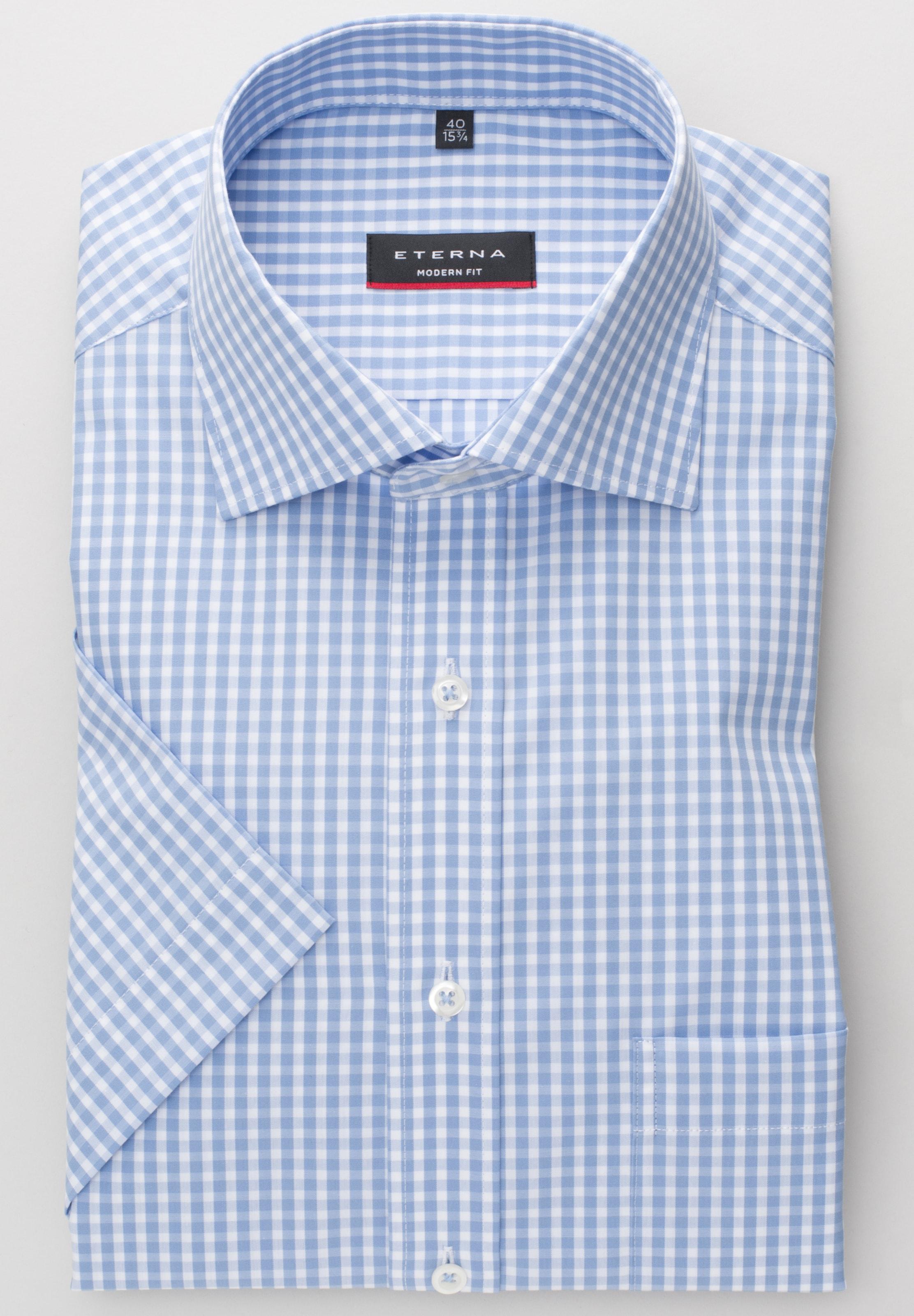 RauchblauWeiß Hemd Hemd Hemd RauchblauWeiß In In Eterna RauchblauWeiß Eterna In Eterna Eterna n0NO8wPXk