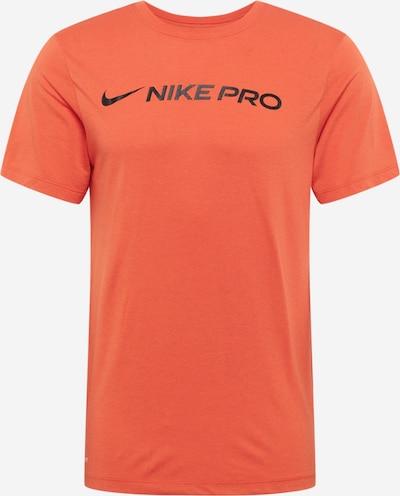 NIKE Funkcionalna majica | temno modra / temno oranžna barva, Prikaz izdelka